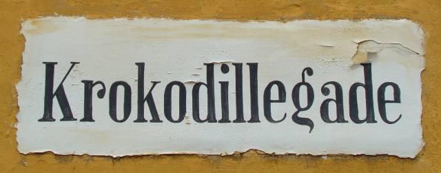 krokodillegade-med-paamalet-gadenavn