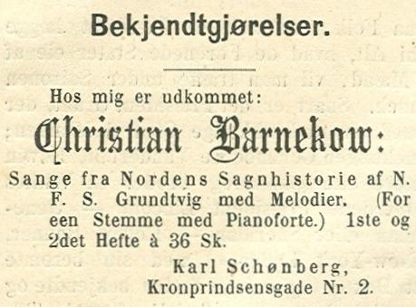 Kronprinsensgade 2 - Købmagergade 34 - 4 - annonce