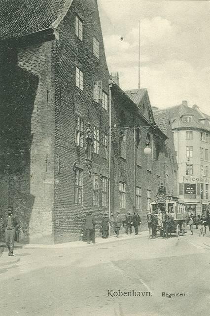 Krystalgade 1 - Store Kannikestræde 2 - 11 - ældre postkort