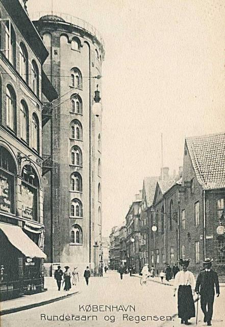Krystalgade 1 - Store Kannikestræde 2 - 12 - ældre postkort