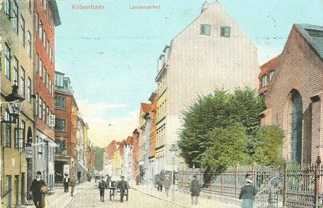 landemaerket-postkort-set-mod-gothersgade-afsendt-i-1911