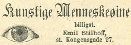Landgreven 3 - Store Kongensgade 27 - 6 - Annonce fra Illustreret Tidende 6.oktober 1878 - nr.993