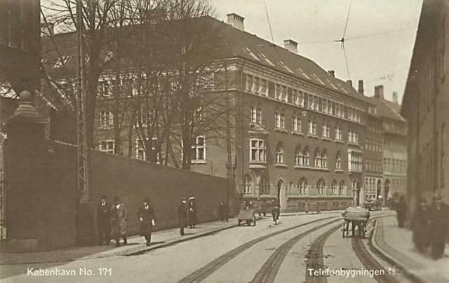 Larslejsstræde 4-6 - Nørre Voldgade 38 - Nørregade 21-29 - Sankt Petri Passage 1 - 33 - ældre postkort