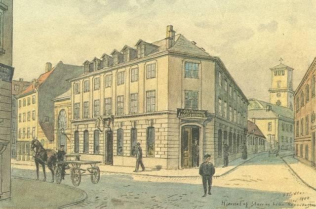 lille-kannikestraede-postkort-efter-tegning-ca-1908