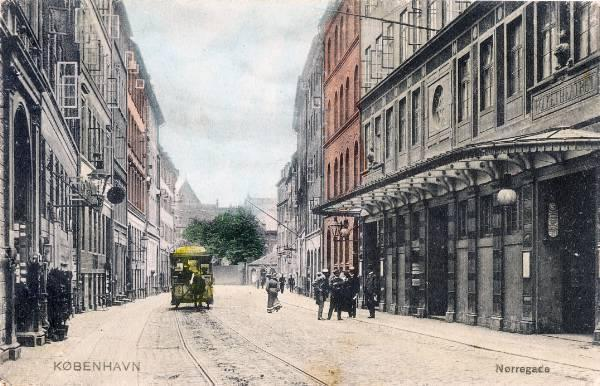 noerregade-ved-folketheatret-postkort-fra-1907