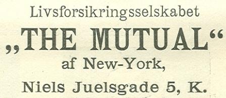 Niels Juels Gade 5 - 5 - annonce fra Illustreret Tidende