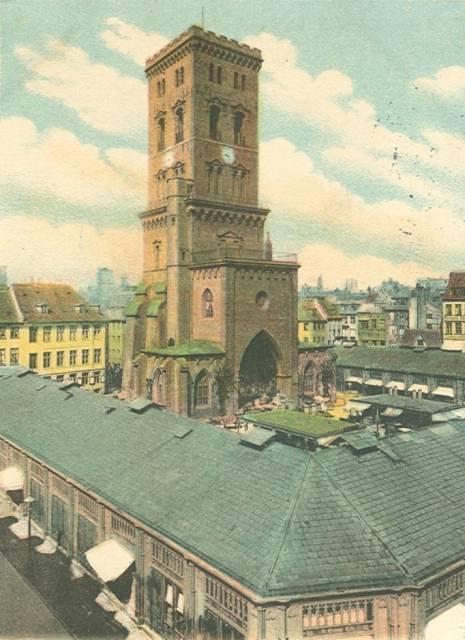 Nikolaj Plads 10-12 - 18 - ældre postkort