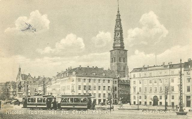 Nikolaj Plads 10-12 - 24 - ældre postkort