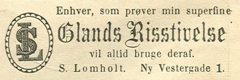 Ny Vestergade 1 - 12 - annonce fra Illustreret Tidende