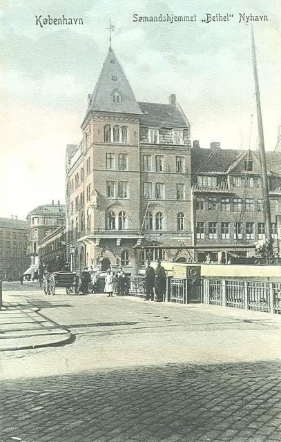 Nyhavn 22-24 - 12 - ældre postkort