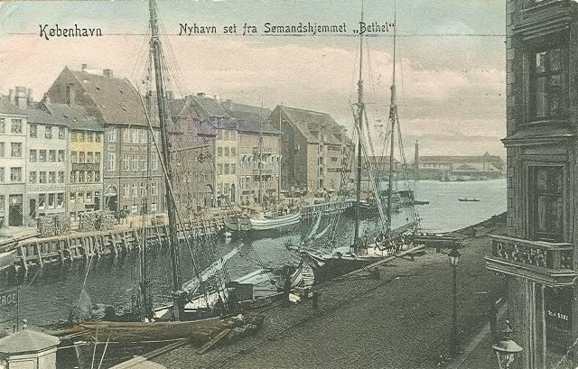 nyhavn-postkort-set-fra-soemandshjemmet-afsendt-i-1907