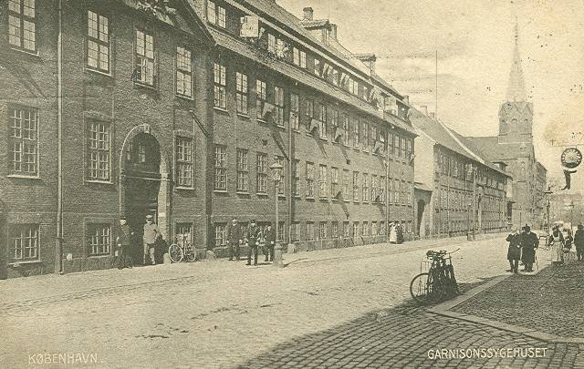 rigensgade-postkort-med-garnisonssygehuset-afsendt-i-1909