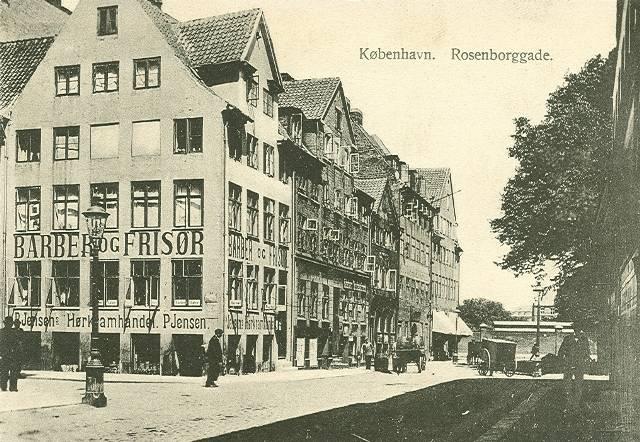 Rosenborggade 15-17 - 10 - ældre postkort