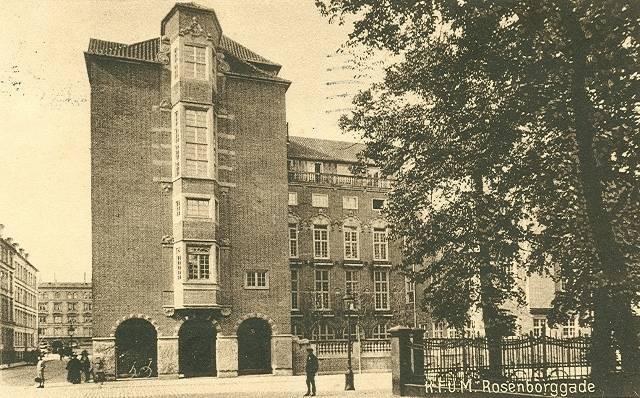 rosenborggade-postkort-med-kfum-bygningen-afsendt-i-1924