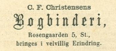 Rosengården 5-7 - 6 - annonce fra Illustreret Tidende