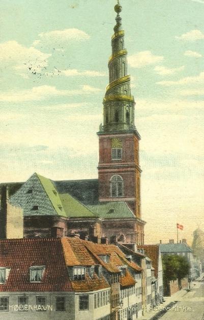Sankt Annæ Gade 29 - ældre postkort - 1