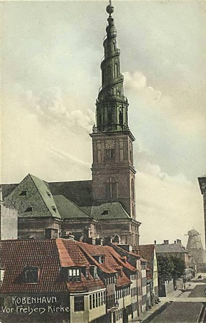 Sankt Annæ Gade 29 - ældre postkort - 2