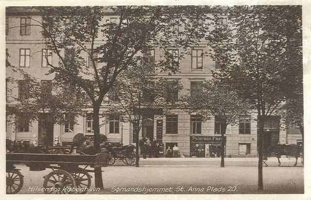 Sankt Annæ Plads 20-20a - 12 - ældre postkort