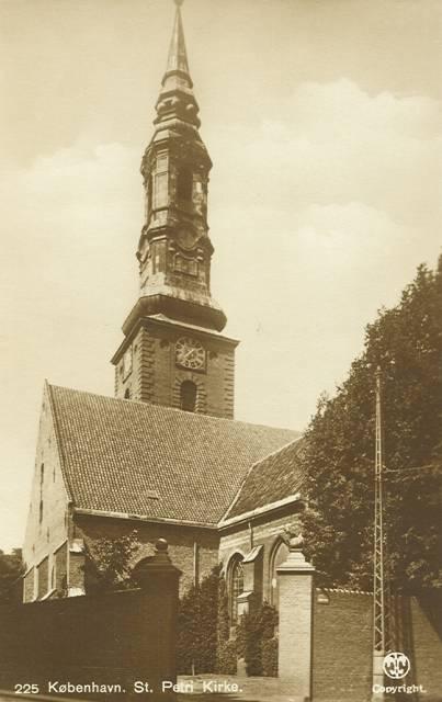 Sankt Peders Stræde 2 - 44 - ældre postkort