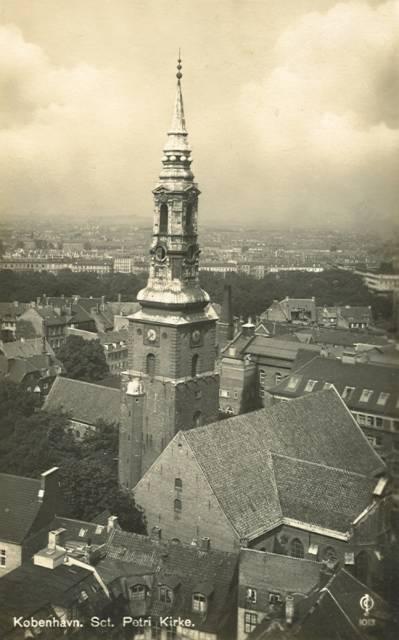 Sankt Peders Stræde 2 - 46 - ældre postkort