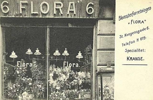 store-kongensgade-blomsterforretning-postkort-fra-1910