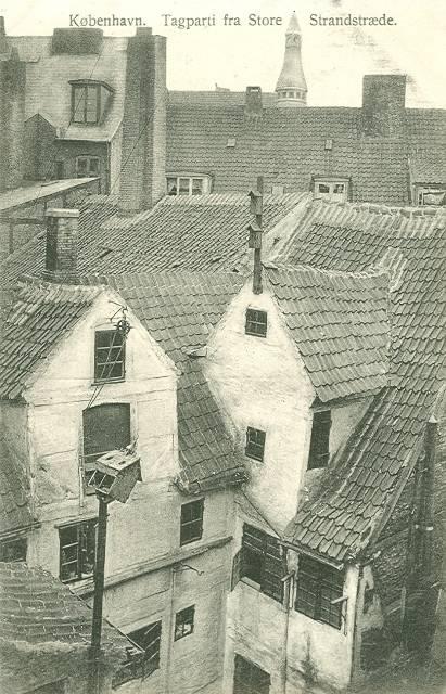 store-strandstraede-postkort-med-tagparti-i-store-strandstraede-ca-1908