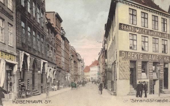 store-strandstraede-postkort-set-fra-nyhavn-afsendt-i-1908